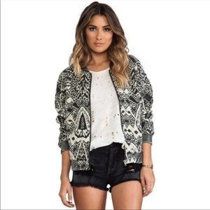 Free people quilted bomber love story jacket